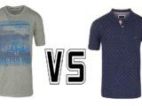 Tee-shirt VS polo