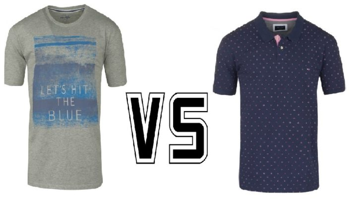 Dilemme : tee-shirt ou polo ?