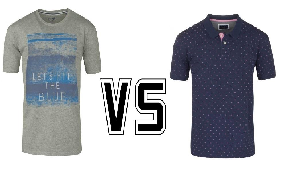 Dilemme : tee-shirt ou polo ?