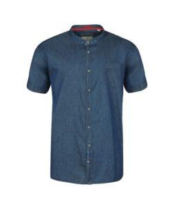 chemisette bleu jean
