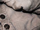pantalon en velour grande taille pour homme